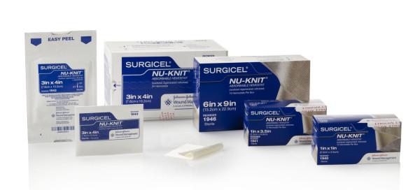 гемостатичний стерильний матеріал SURGICEL NU-KNIT
